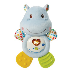 VTech Little Friendlies Happy Hippo Teether grizalo, zvečilo za boleče dlesni VTCTOY11