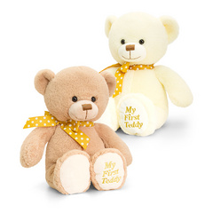 Keel Toys Supersoft My First Teddy, medvedek 20cm 1 kos, KLTTED11