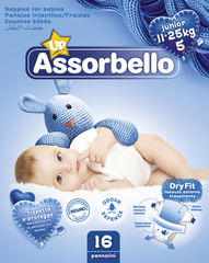 Assorbello Plenice Junior 11/25 kg 00625