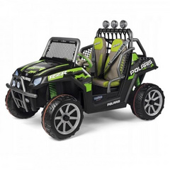 PEG PEREGO Polaris Ranger RZR Green Shadow 24V, 9501011
