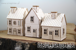 SCRAPINIEC Tiny Village 3D, mesto 55920, za EXPLODING BOX