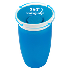 MUNCHKIN Miracle 360 Sippy Cup Blue 296ml, skodelica MKNFED43-SKY