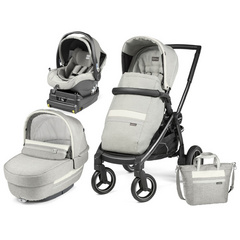PEG PEREGO Elite i- Size Luxe Pure Modular Team Black 4012901T