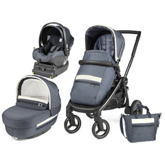 PEG PEREGO ELITE i-Size Modular Luxe MIRAGE Team Black 4012904T