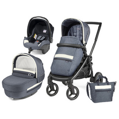 PEG PEREGO ELITE SL Modular Luxe Mirage   Team Black 4010904T